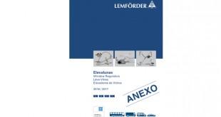 Nova gama de elevadores de vidro Lemförder para autocarros