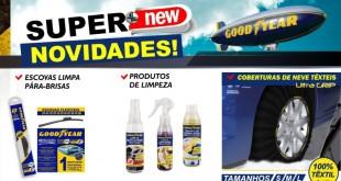 """Linextras com novidades nos """"extras"""" da Goodyear"""