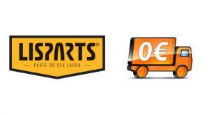 Lisparts oferece portes grátis nas entregas no continente