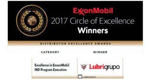 Lubrigrupo vence galardão de Ouro nos prémios da ExxonMobil