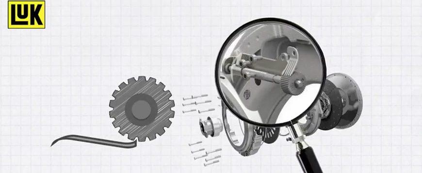 Como funciona uma embraiagem autoajustável (com vídeo)