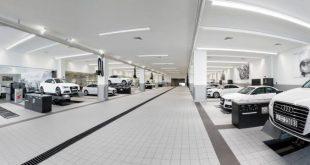 MAHA equipa maior oficina Audi do mundo (com video)