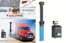 Equipamento Manatec para pesados homologado pela Michelin