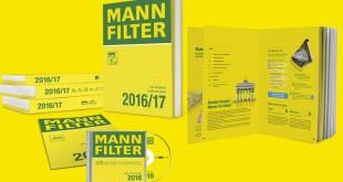 Novos catálogos Mann-Filter com muitas novidades