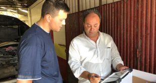 Diagnóstico Actia entregue à oficina Auto Pedro Dias