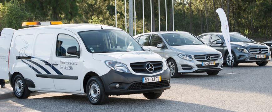Mercedes lança pit stop gratuito para os condutores de viaturas Mercedes-Benz