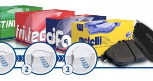 Metelli com nova embalagem para as pastilhas de travão