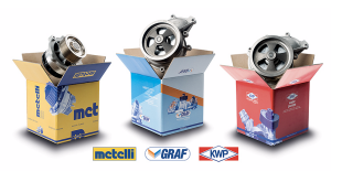 Metelli reforça gama de bombas de água para veículos industriais