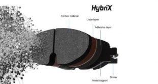 Hybrix amplia gama de pastilhas de travão