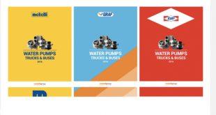 Metelli: novos catálogos de bombas de água para pesados