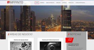 MF Pinto tem novo website com plataforma B2B