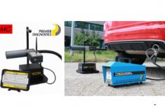 MG Equipamentos apresenta equipamento que permite verificar a ausência ou ineficácia dos filtros de partículas