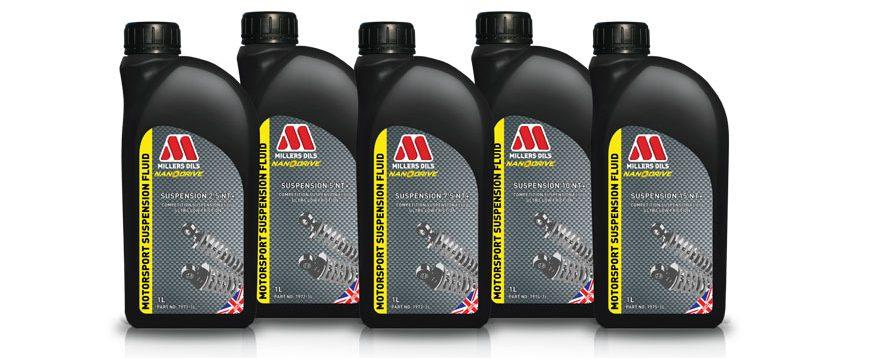 Millers apresenta lubrificantes para amortecedores