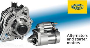 Novo catálogo de alternadores e motores de arranque Magneti Marelli