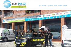 MM Peças remodela website