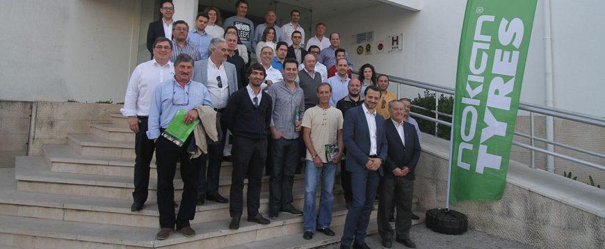 """Nokian e VTS lançaram """"Nokian Authorized Dealer"""" em Portugal"""