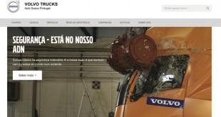 Auto Sueco lança novo site da Volvo Trucks