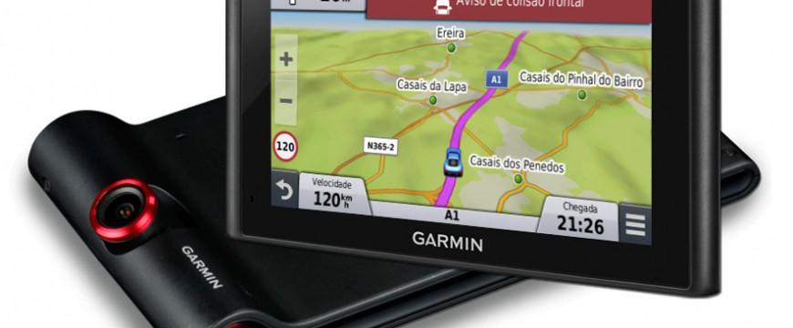 Nova geração de equipamentos GPS auto da Garmin