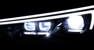 Novos faróis IntelliLux LED no novo Opel Insignia