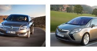 Opel faz recall de Insignia e Zafira