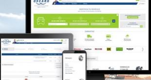 Oscaro com nova página web