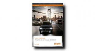 Catálogo Osram para Automóvel pela primeira vez em português
