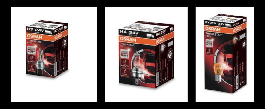 Osram Truckstar Pro em campanha