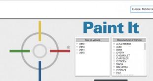 PPG Refinish lança nova aplicação Paint it