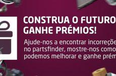 Campanha para utilizadores profissionais do partsfinder lançada pelo bilstein group