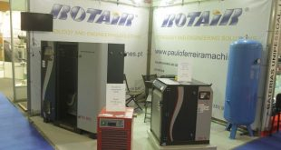 Paulo Ferreira Machines promoveu compressores Rotair