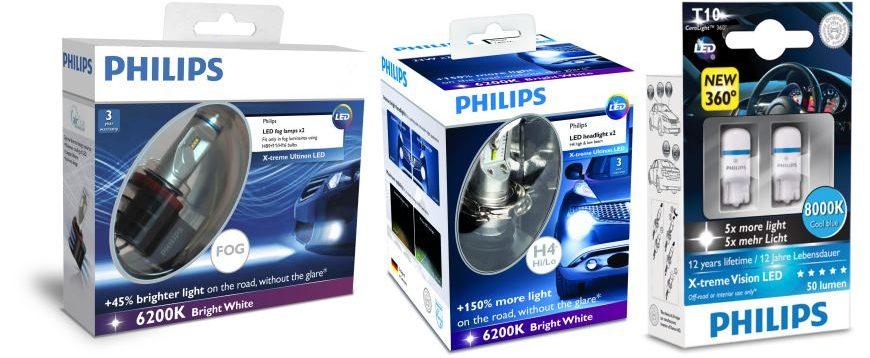 Philips apresenta novos produtos para o setor auto