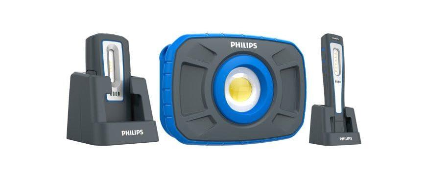 Philips apresenta três novas luzes de trabalho para as oficinas