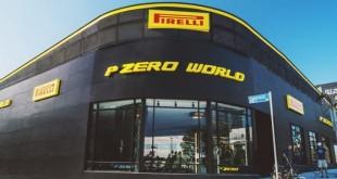 "Pirelli lança conceito super premium de casa de pneus ""P Zero World"""