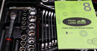 Novo catálogo da Peças Land Rover