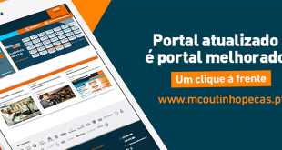 MCoutinho Peças atualiza portal B2B