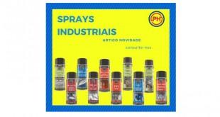 Novos sprays industriais na Póvoa Hidráulica
