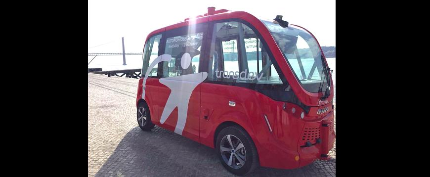 Autocarro autónomo da Transdev está em Portugal