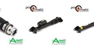 Pro4matic apresenta os novos amortecedores da Arnott