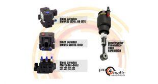 Novos blocos de válvulas para suspensão pneumática na Pro4Matic