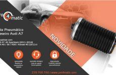 Pro4matic apresenta novo pneumático para Audi A7