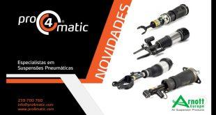 Mais novidades em suspensões pneumáticas Arnott na Pro4Matic