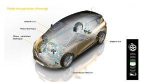 Grand Scénic estreia tecnologia Híbrida na Renault