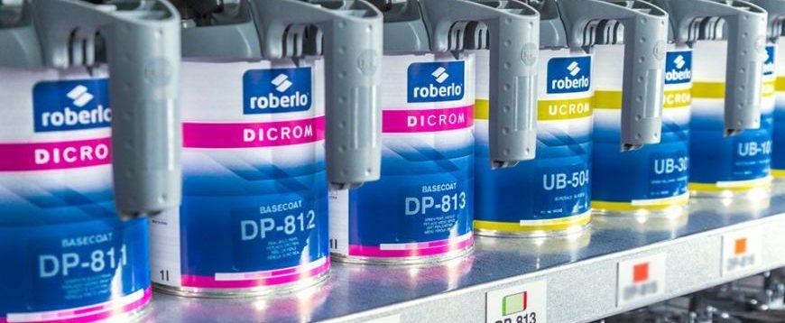 Roberlo lança tintas Dicrom e Ucrom para o setor automóvel