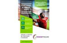 """Rodapeças lançou Campanha """"Portugal a jogar você a ganhar"""""""