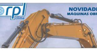 RPL Clima com novidades de climatização em máquinas de obras