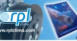 RPL Clima lança catálogo para 2017