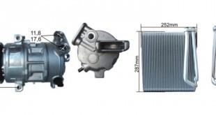 Novas referências RPL Clima em compressores e evaporadores