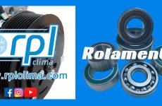 Rolamentos para compressores de A/C na RPL Clima