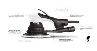 Carsistema disponibiliza nova lixadeira elétrica Rupes Skorpio E