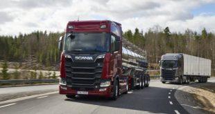 Mais eficiência de combustível com a mais recente geração V8 Euro 6 da Scania
